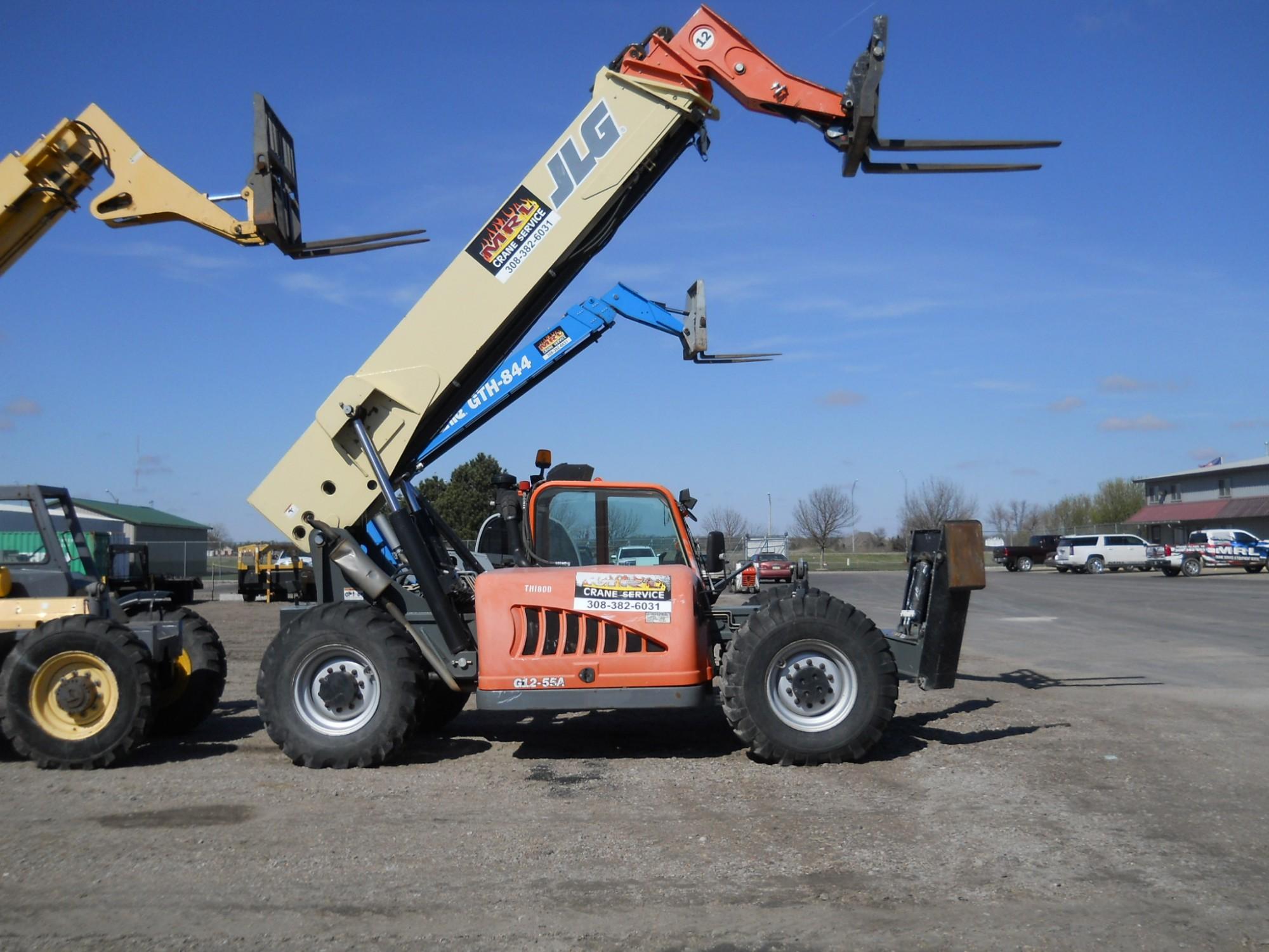 12K Telehandler - MRL Crane Service & Equipment Rental